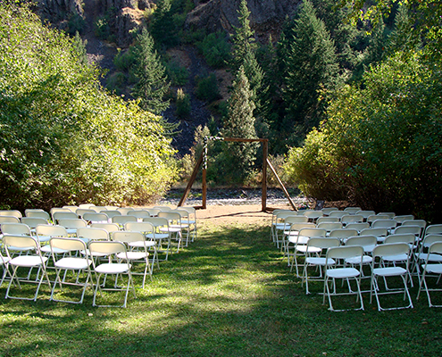 Elk Ridge Campground Summer Wedding